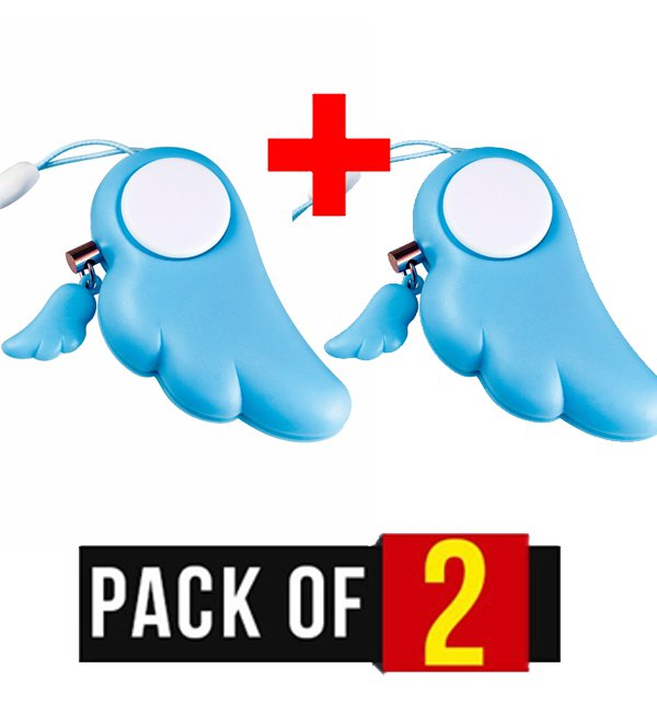 Pack of 2 - Key Ring Defense Alarm for Protection of Children Safety & Security Price in Pakistan