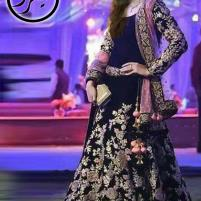 Chiffon Bridal Embroidery Maxi Unstiched - (CHI-321) Price in Pakistan