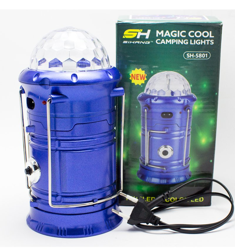 Portable Charging Disco Light, LED Lamp & Torch (Three in One) Price in Pakistan