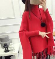 Red Winter Fleece Poncho For Women (FPW-02) Price in Pakistan