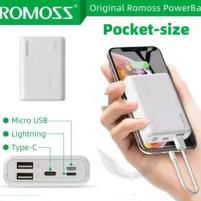 Romoss Pocket Size Simple 10 10000mah Power Bank Price in Pakistan