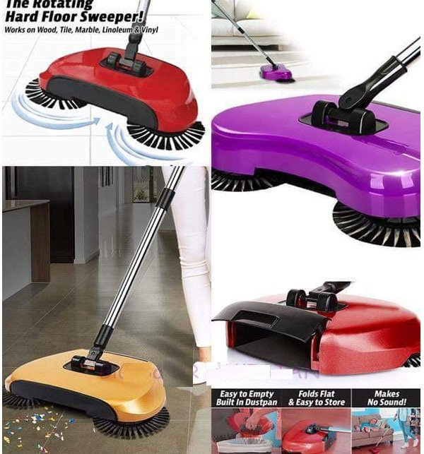 Smart Multi-Function Whirlwind Manual Sweeper Mop  Price in Pakistan