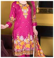Star Classic Lawn Dress With Lawn Dupatta (SC-1023A) (Unstitched) Price in Pakistan