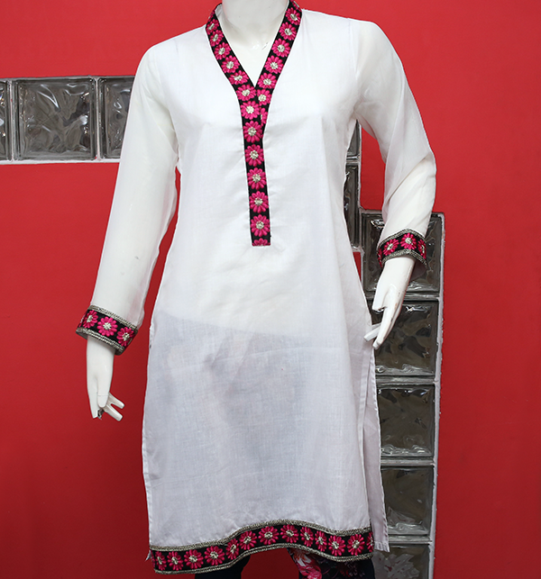 Stitched Women Printed Lawn Kurti (EK-126)  Price in Pakistan