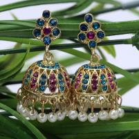 Stylish Multi Color  Earrings Set  - (JLW-03) Price in Pakistan