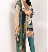 Summer Lawn Suit With Chiffon Dupatta UnStitched  (DRL-617) Price in Pakistan