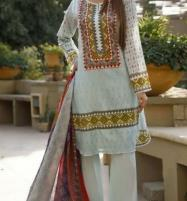 VS CLASSIC LAWN Suit With Printed Lawn Dupatta VOL-1 (103-B) Price in Pakistan