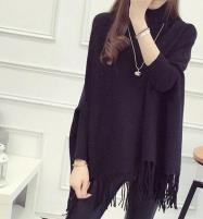 Black Winter Fleece Poncho For Women (FPW-01) Price in Pakistan