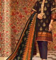 Winter Khaddar Embroidery Dress 2019 2020 With Wool Dupatta (KD-65) (UnStitched) Price in Pakistan