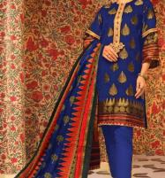 Winter Khaddar Embroidery Dress 2019 2020 With Wool Dupatta (KD-66) (UnStitched) Price in Pakistan