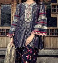 Winter Khaddar Embroidery Dress 2019 2020 With Wool Dupatta (KD-69) (UnStitched) Price in Pakistan
