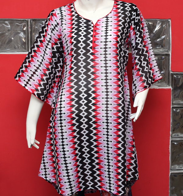 Women Printed Lawn Kurti (EK-122) (Stitched) Price in Pakistan