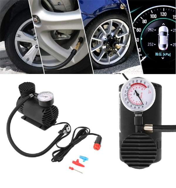 Fast Air Inflation Mini Car Air Compressor