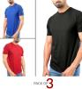 Pack of 3 Summer Men's T-shirts