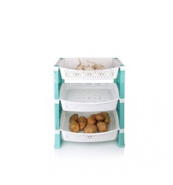 3 Layers Onion & Potato Container & Holder