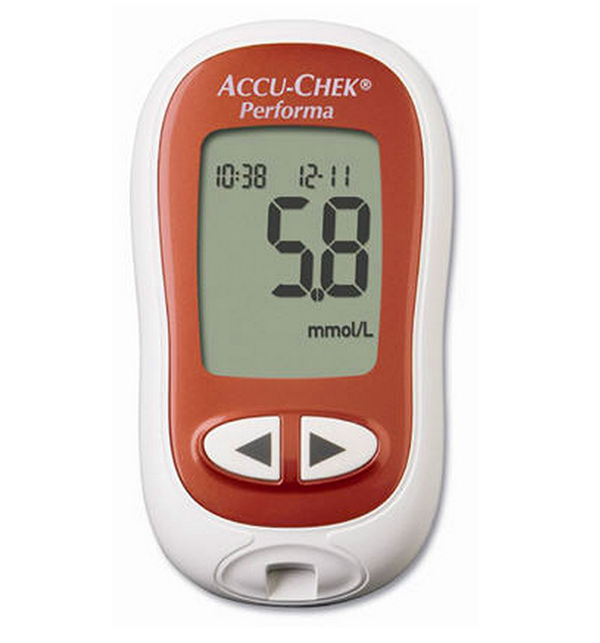 Accu Check Performa Meter + FREE 10 Strips
