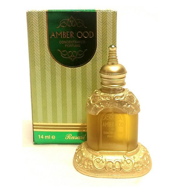 Original Amber Oudh By Rasasi Arabian Concentrated Perfume 14ml