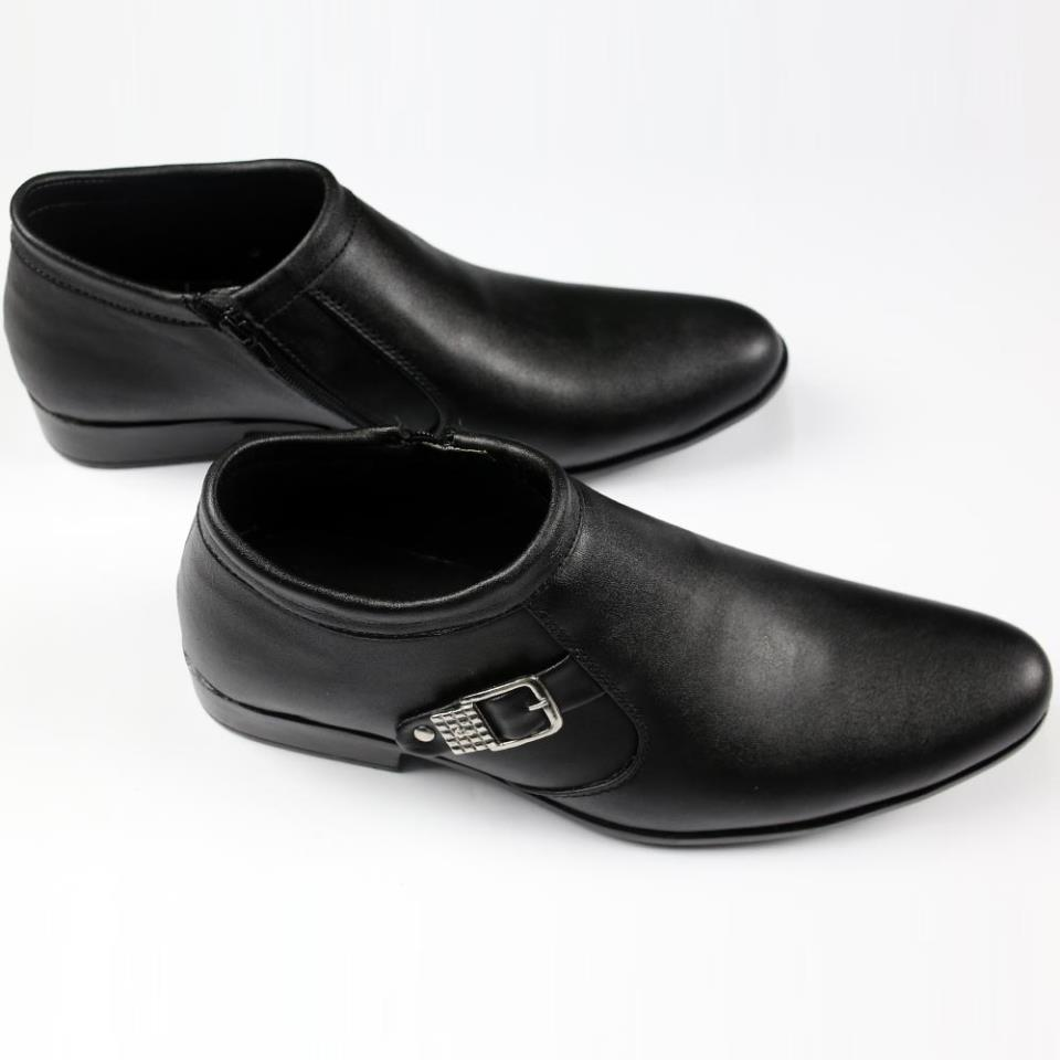 Black Formal Shoes for Men - (MS-08)