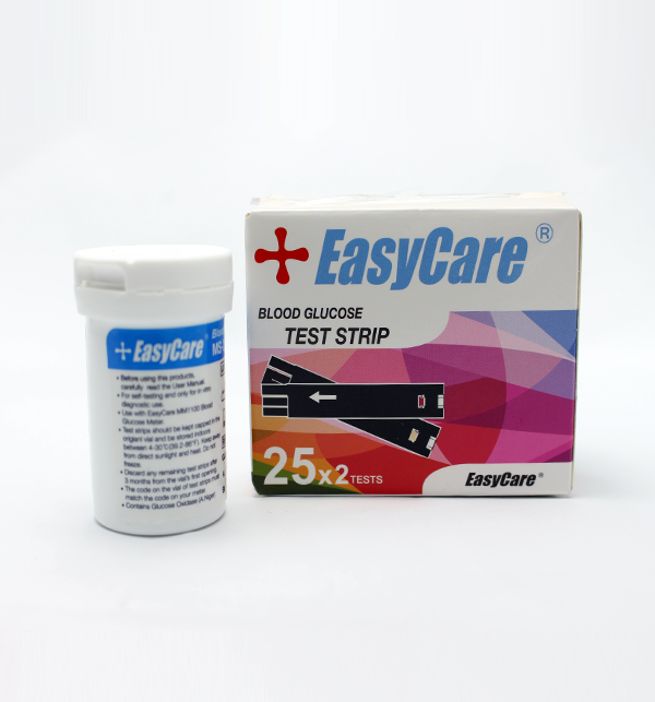 Easy Care Blood Glucose - 25 Test Strips