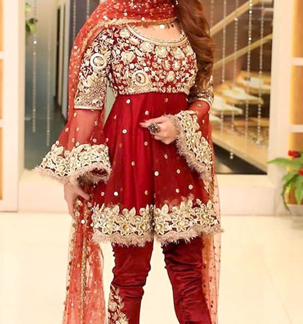 Embroidered Chiffon Suit With Embroidered Chiffon Dupatta (CHI-67)