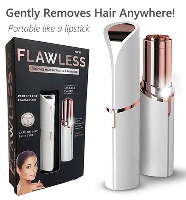 NEW FLAWLESS FACIAL HAIR REMOVER
