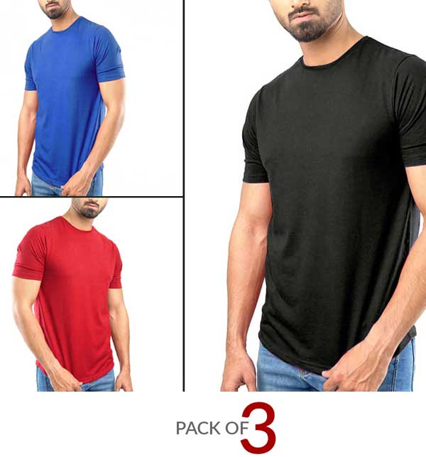 Pack of 3 Summer Collection Men