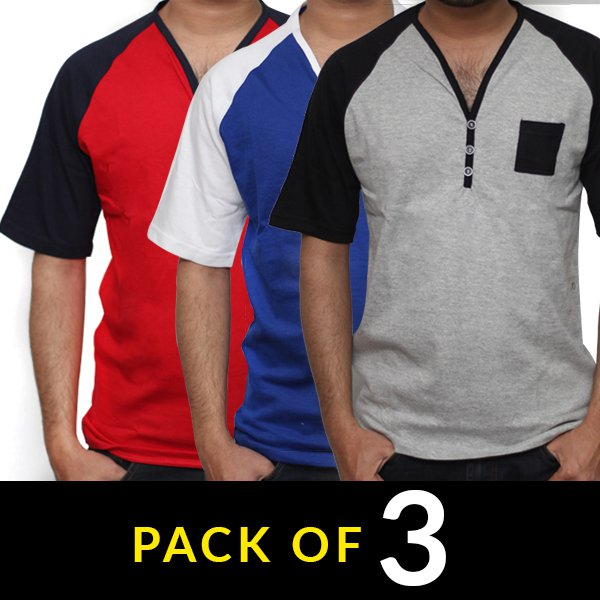Pack of 3 Summer Men