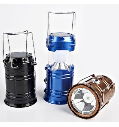 Portable Solar Charging LED Lamp